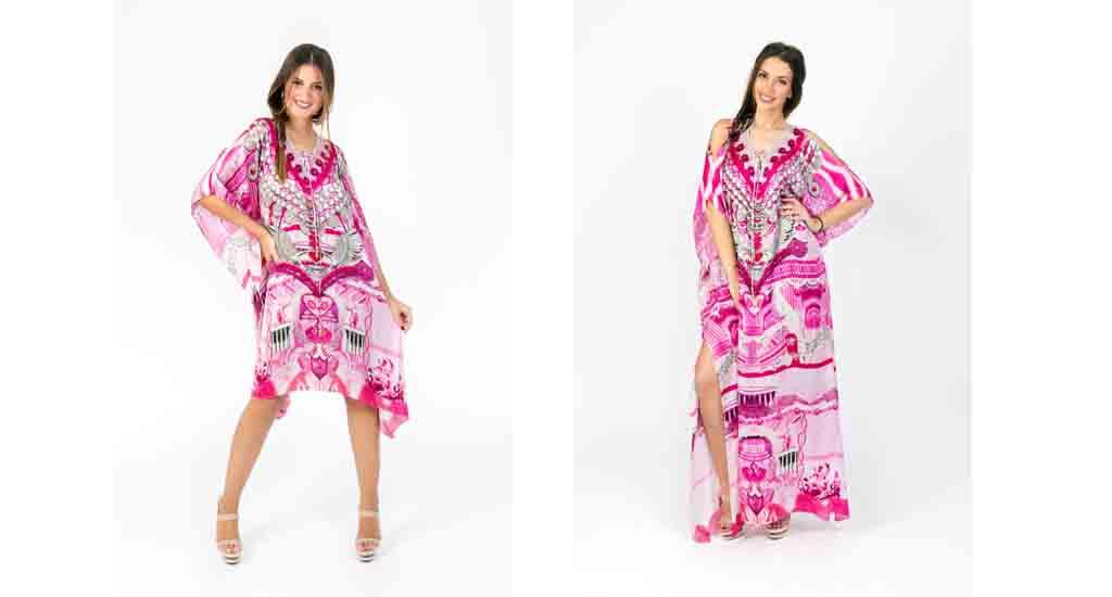 Μεταξωτά φορέματα με άρωμα Ελλάδας